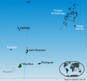Mauritius Cartina